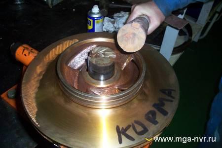 Boiler feed water pump